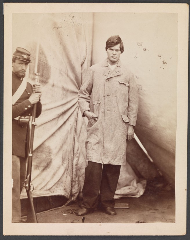 Alexander Gardner (American, Glasgow, Scotland 1821 - 1882 Washington, D.C.) 'Lewis Powell [alias Lewis Payne]' April 27, 1865