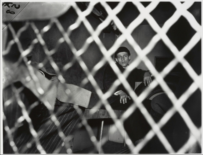 Weegee (Arthur Fellig) 'Frank Pape, Arrested for Strangling Boy to Death, New York' 1944