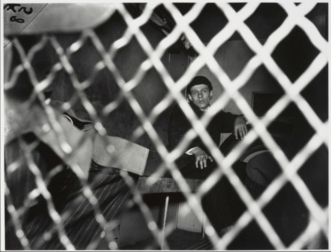 Weegee (Arthur Fellig) 'Frank Pape, Arrested for Strangling Boy to Death, New York' 1944