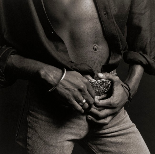 Robert Mapplethorpe (American, 1946-1989) 'Phillip Prioleau' 1980