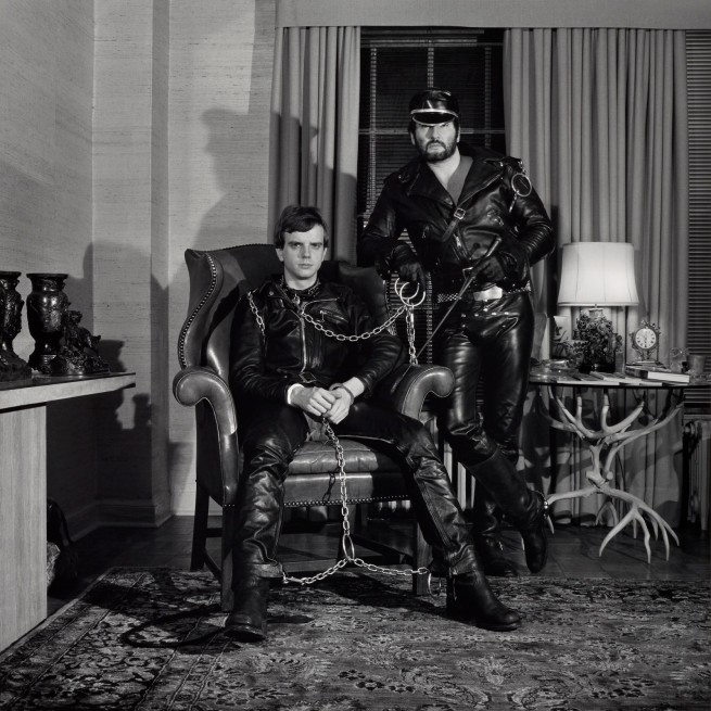 Robert Mapplethorpe (American, 1946-1989) 'Brian Ridley and Lyle Heeter' 1979