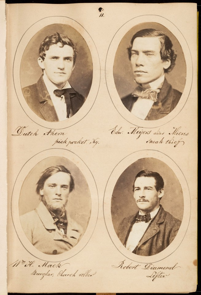 Samuel G. Szabó (Hungarian, active America c. 1854 - 61) 'Rogues, a Study of Characters' c. 1860