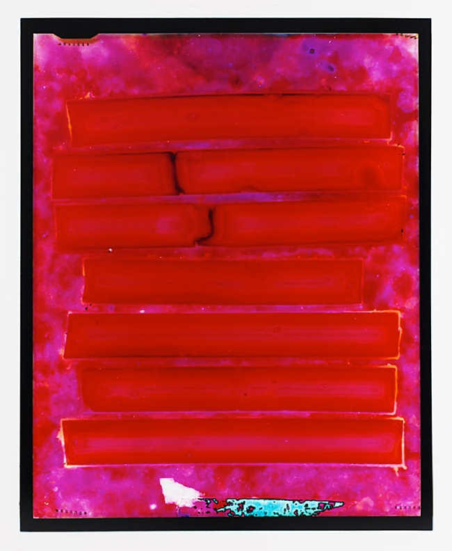 Justine Varga (Australia/UK) 'Exit (Red State)' 2014-15