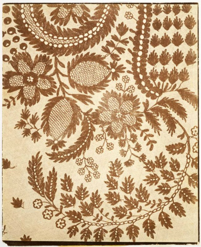 William Henry Fox Talbot (1800-1877) 'Lace' c. 1845