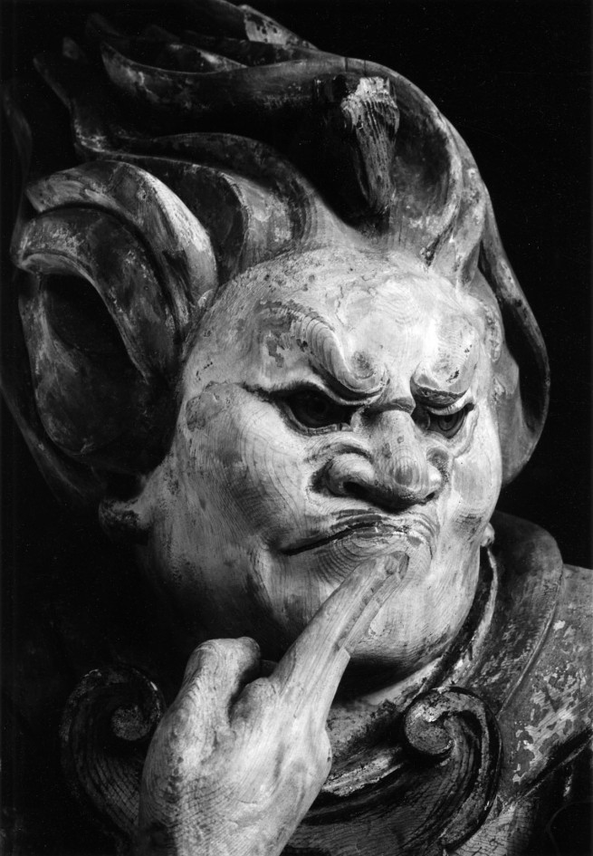 Ken Domon. 'Ushi (Bue), dai dodici guardiani (jūnishinshō) del Murōji [Ushi (Ox), one of the twelve guardians (jūnishinshō) of Muroji]' 1941-1943