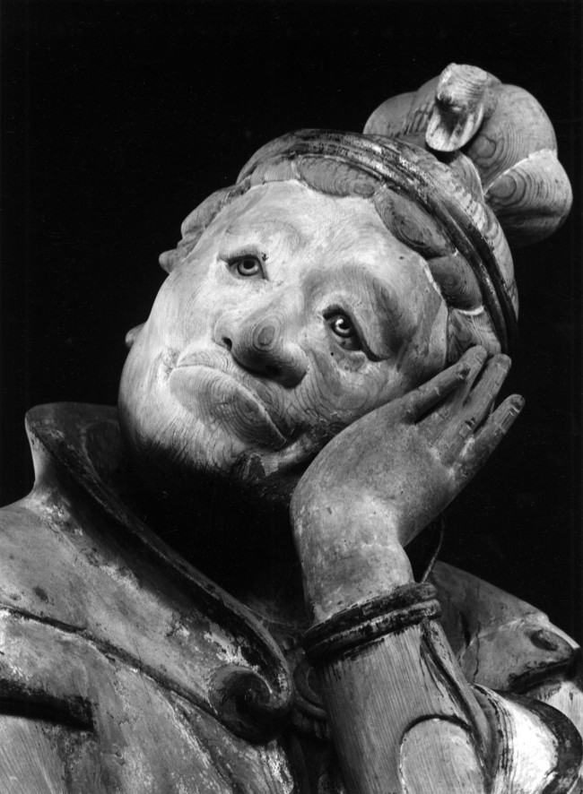 Ken Domon. 'Hitsuji (Pecora), dai dodici guardiani (jūnishinshō) del Murōji [Hitsuji (Sheep), one of the twelve guardians (jūnishinshō) of Muroji]' 1941-1943