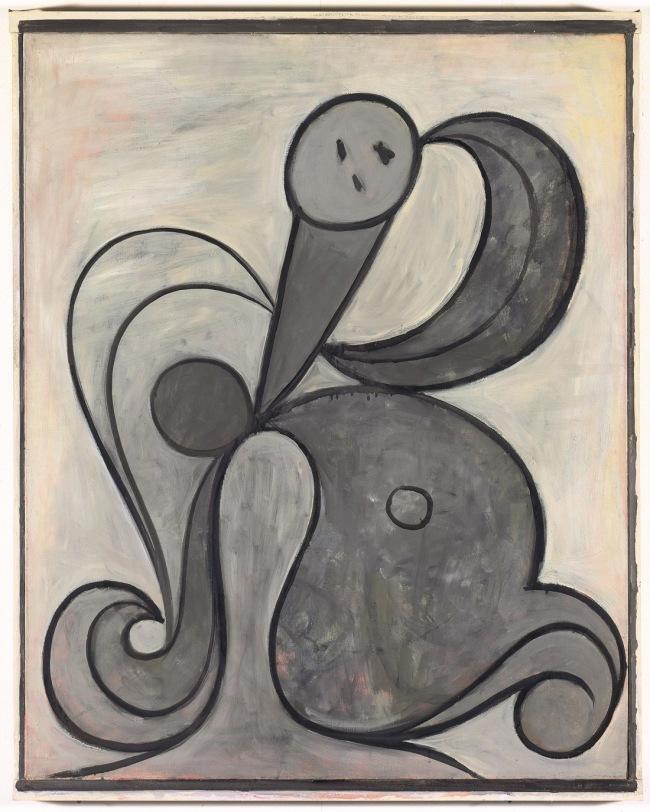 Pablo Picasso (1881–1973) 'Femme aux arabesques (Arabesque Woman)' 1931