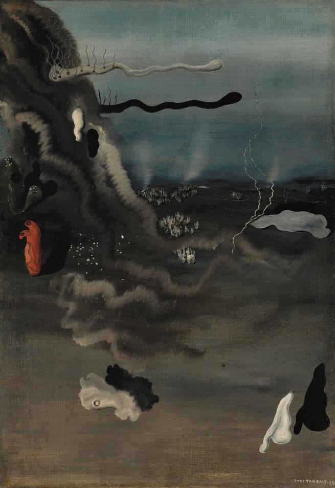 Yves Tanguy (1900-1955) 'Sans titre, ou Composition surréaliste (Untitled, or Surrealist Composition)' 1927