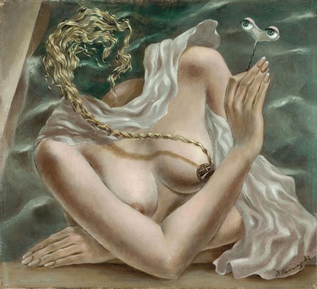 Dorothea Tanning (1910-2012) 'Voltage' 1942