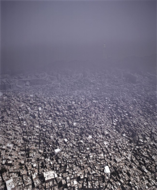 Ahmed Mater. 'From the Real to the Symbolic City' 2012
