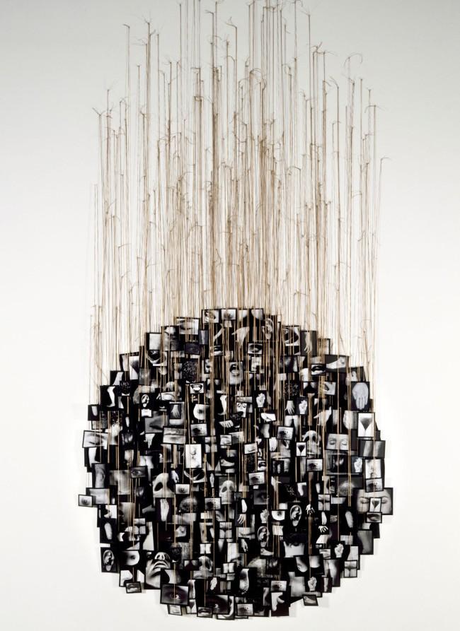 Annette Messager. 'Mes voeux' 1989