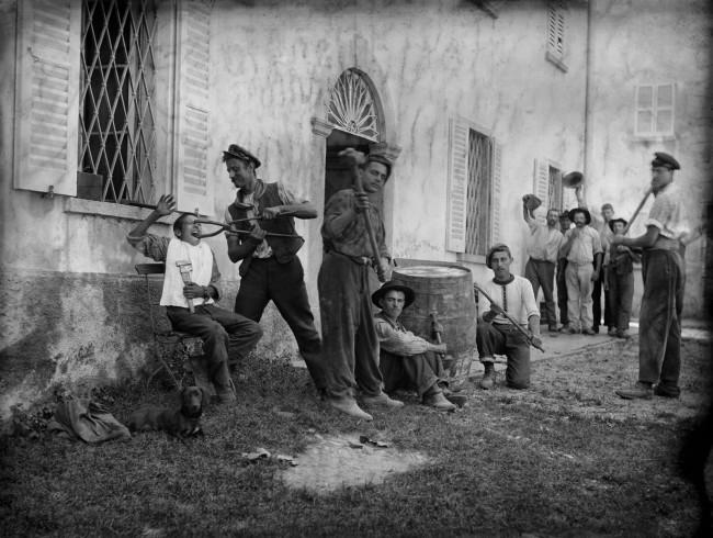 Roberto Donetta. 'Humoristic scene, Bleniotal' Nd