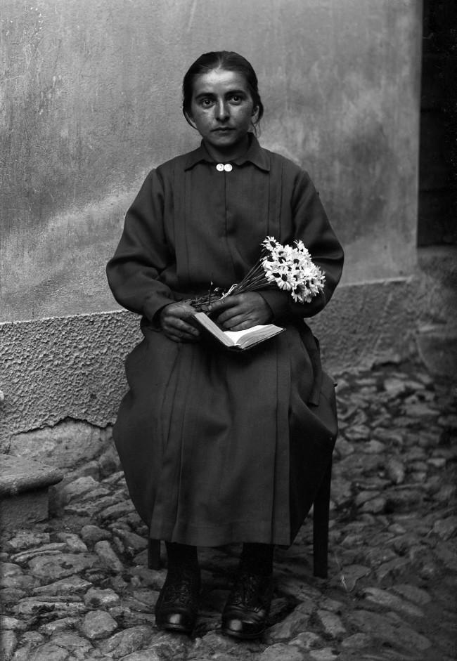 Roberto Donetta. 'Portrait of Cesarina Andreazzi Lazzari, Bleniotal' Nd