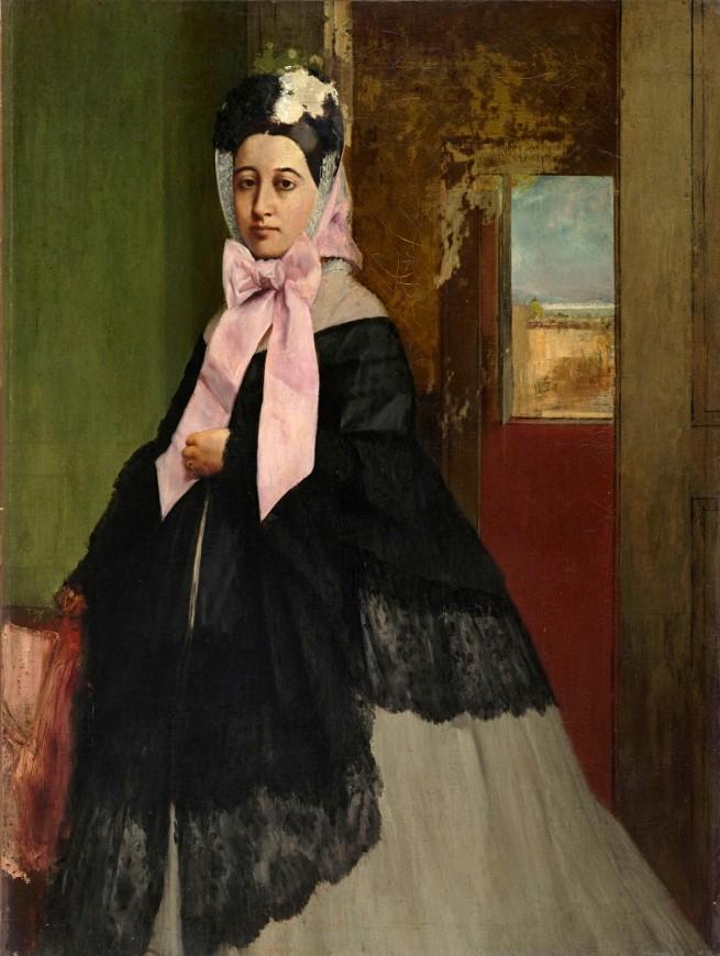 Edgar Degas. 'Thérèse De Gas' c. 1863
