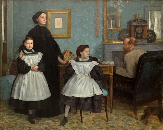 Edgar Degas. 'Family portrait' also called 'The Bellelli family' 1867