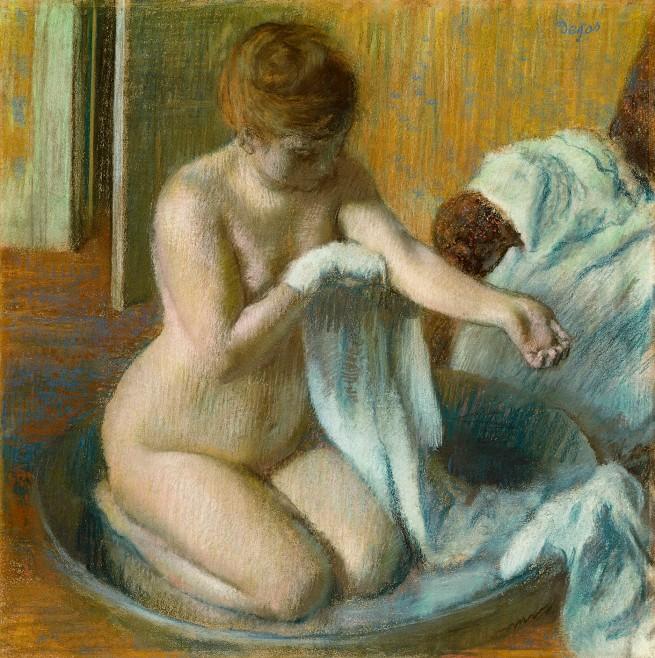 Edgar Degar. 'Woman in a Tub' 1883