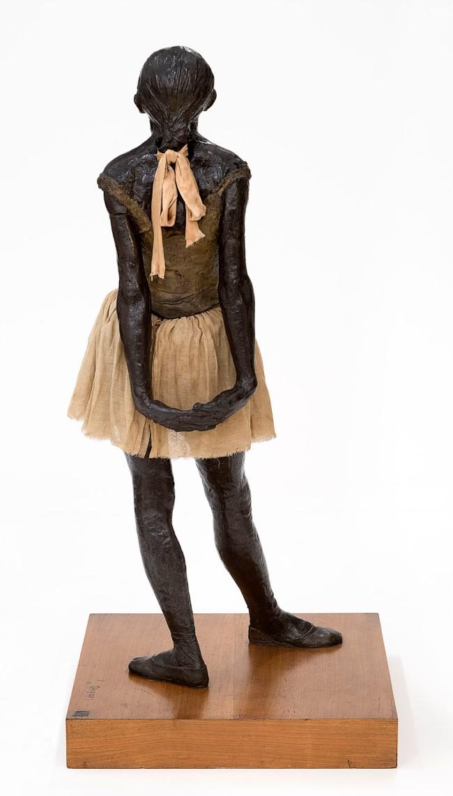 Edgar Degas. 'The little fourteen-year-old dancer' 1879-81, cast 1922-37