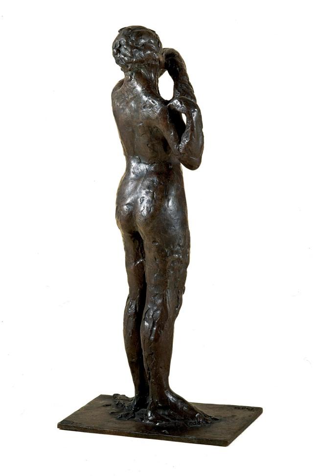 Edgar Degas. 'Dancer adjusting the shoulder strap of her bodice' 1882–95