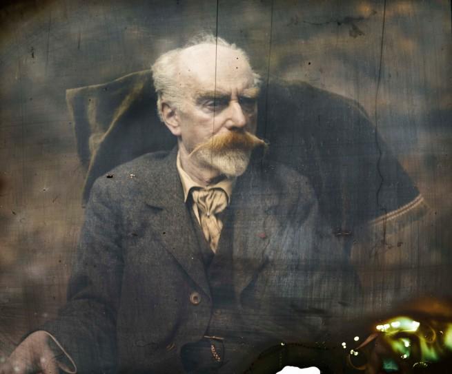 Gabriel Lippmann. 'Selfportrait' c. 1892