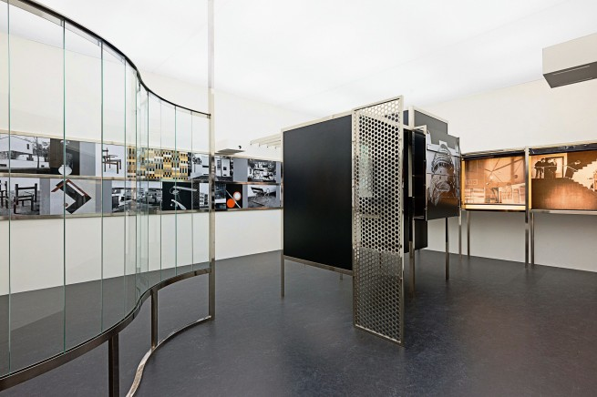 László Moholy-Nagy. 'Room of the Present (Raum der Gegenwart)' constructed in 2009 from plans and other documentation dated 1930