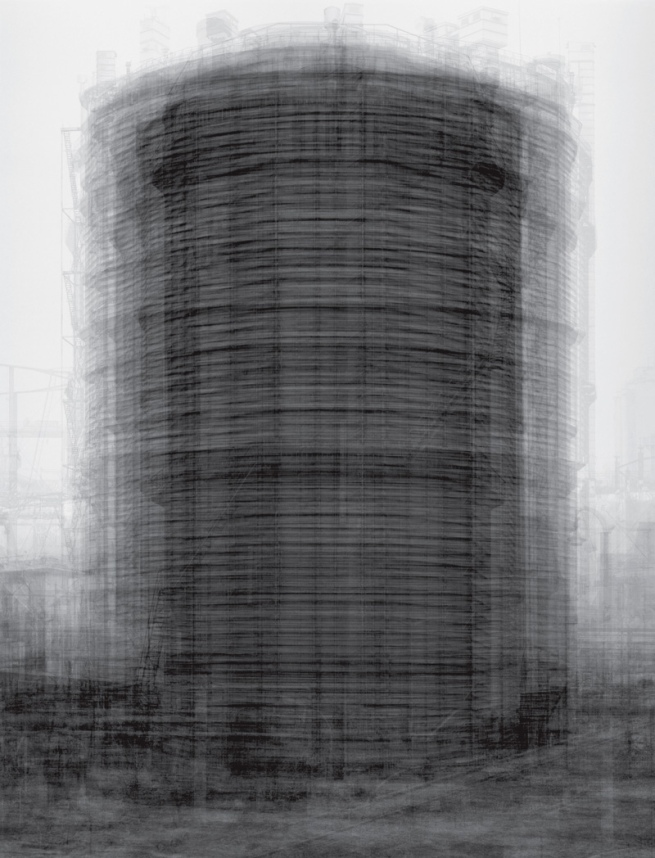 Idris Khan. 'Every ... Bernd and Hilla Becher Prison Type Gasholder' 2004
