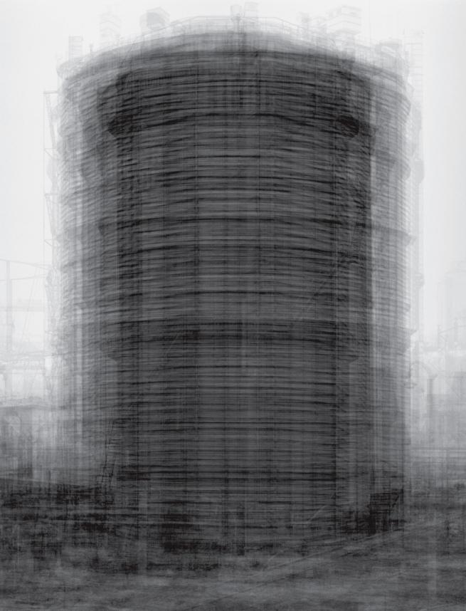 Idris Khan. 'Every ... Bernd and Hilla Becher Prison Type Gasholder' 2004