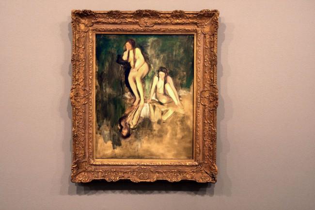 Edgar degas. 'Etude de nus: Mlle Fiocre dans le ballet La Source' 1867-68