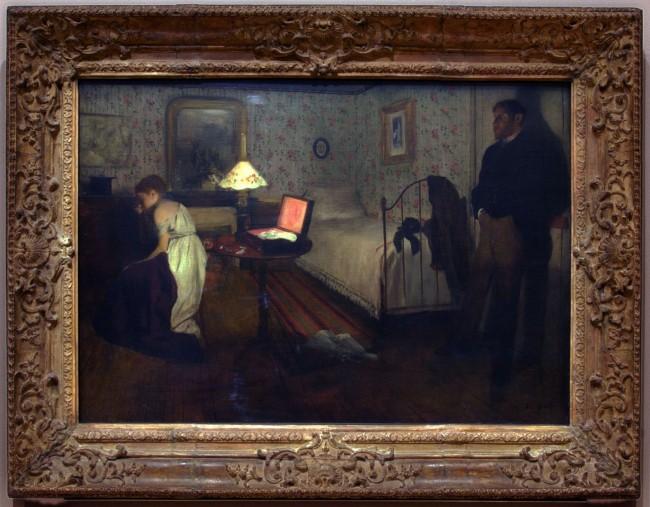 Edgar Degas Interior c. 1868-69 (installation view)