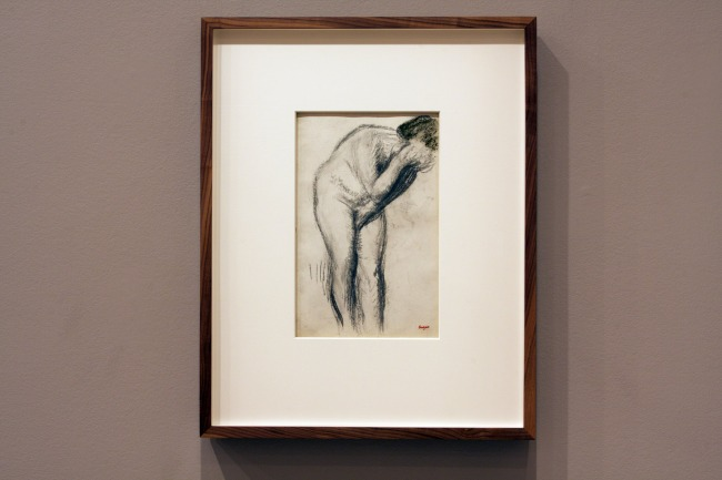 Edgar Degas. 'Female nude' 1905