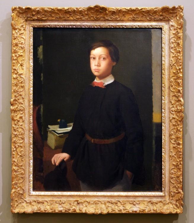 Edgar Degas. 'René De Gas' 1855