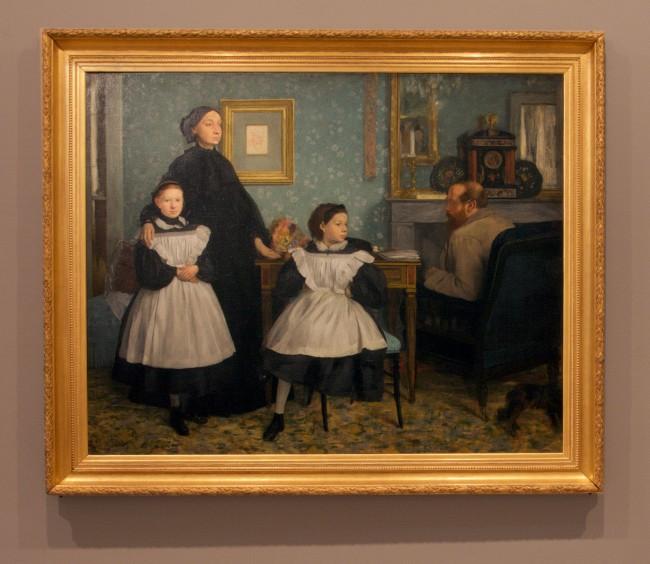 Edgar Degas. 'Family portrait' also called 'The Bellelli family' 1867