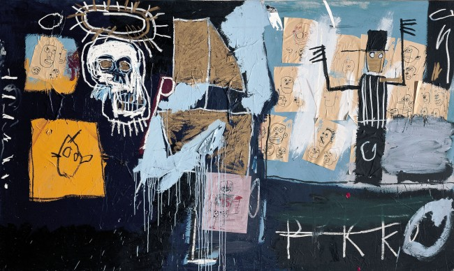 Jean-Michel Basquiat. 'Slave Auction (Vente aux enchères d'esclaves)' 1982