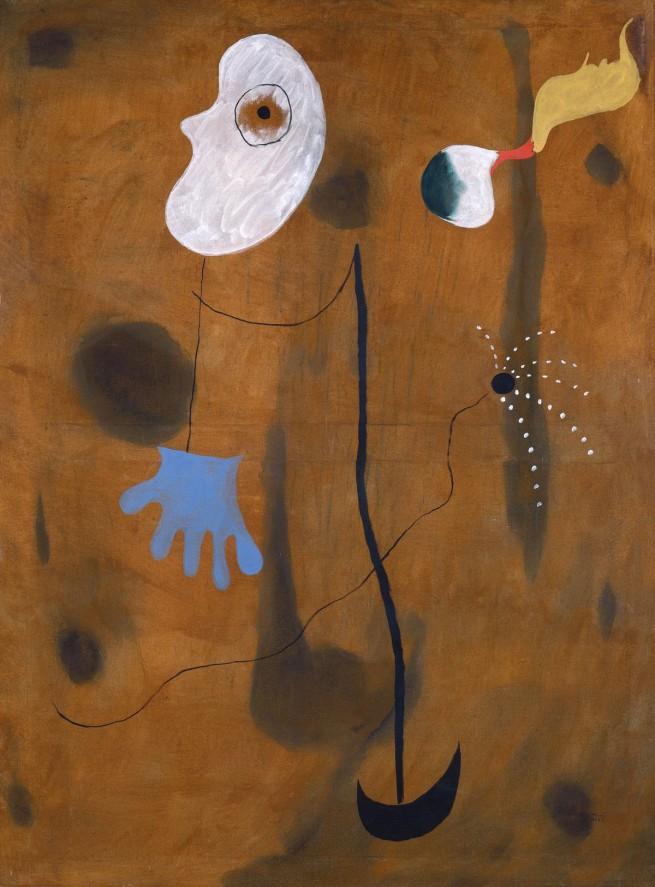 Joan Miro (1893-1983) 'Peinture (Painting)' 1925