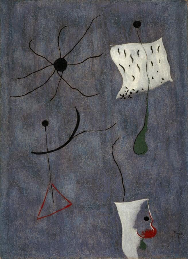 Joan Miró. 'Peinture' 1927