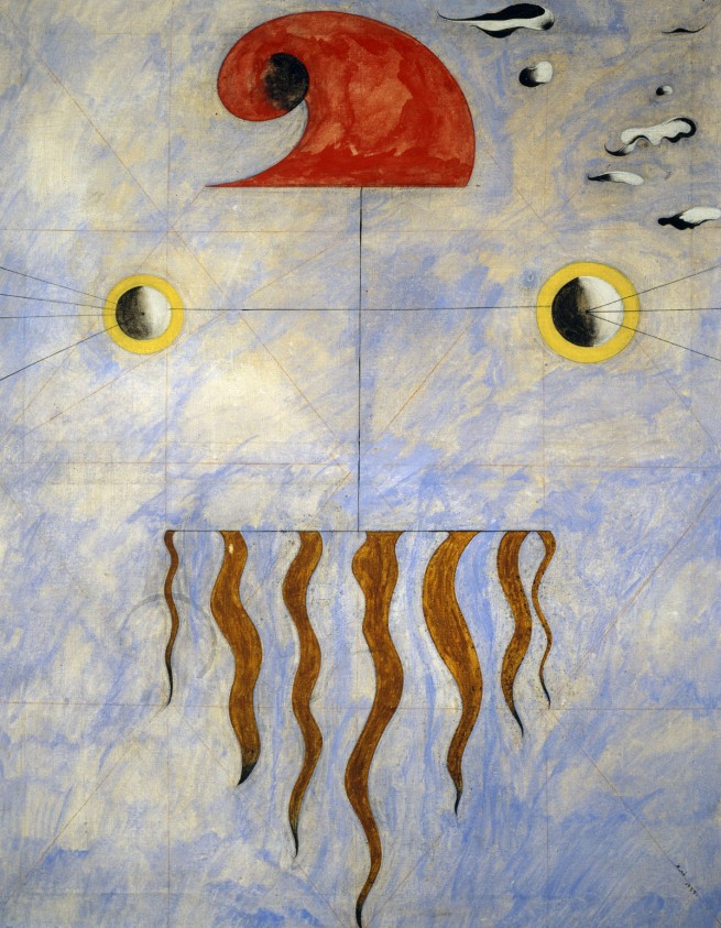 Joan Miró. 'Tête de Paysan Catalan [Head of a Catalan Peasant]' 1925