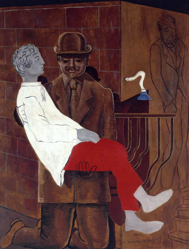 Max Ernst. 'Pieta or Revolution by Night' 1923