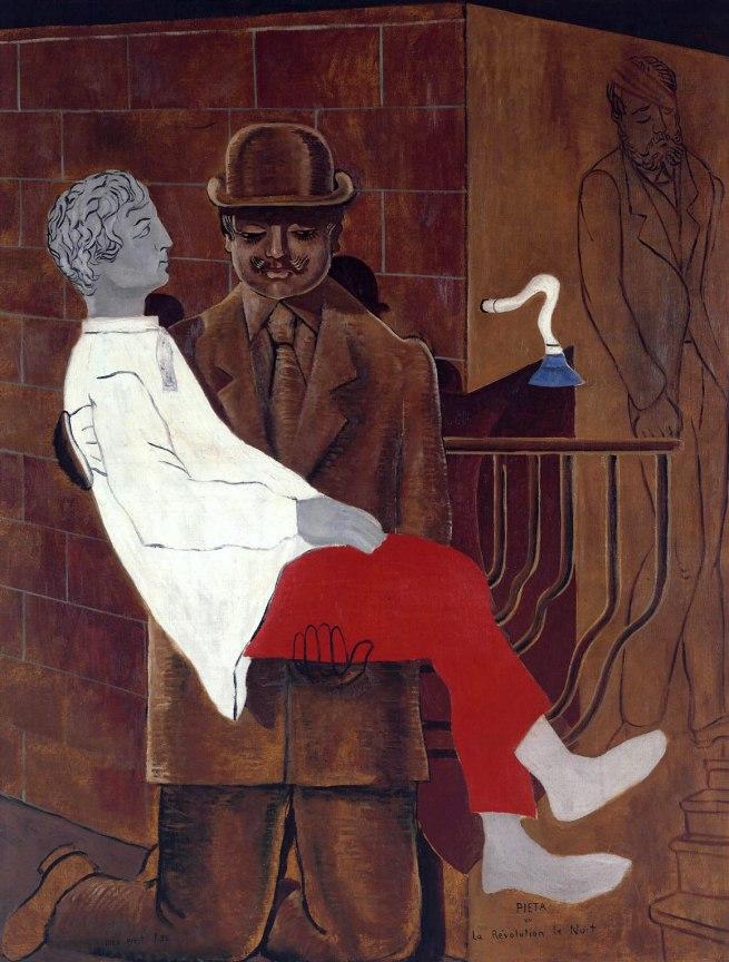 Max Ernst. 'Pieta or Revolution by Night' 1923