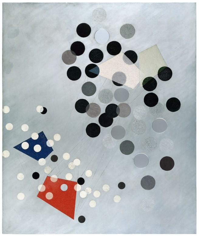 László Moholy-Nagy. 'Construction AL6 (Konstruktion AL6)' 1933–34