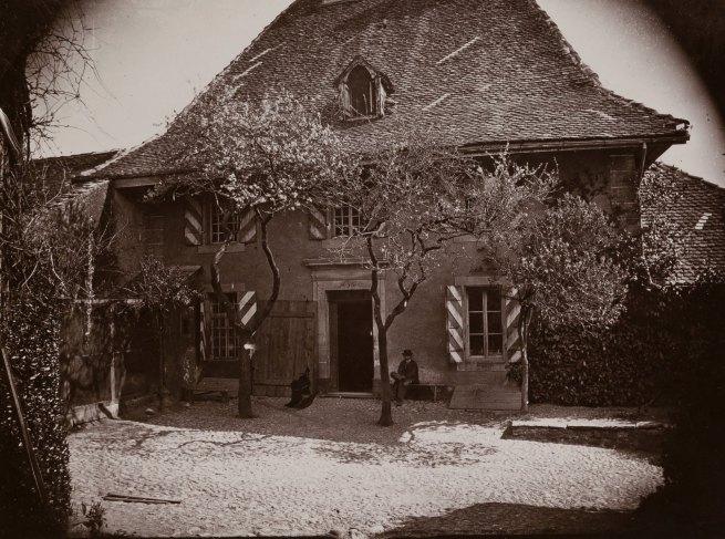 Paul Vionnet. 'La cure d'Etoy' 1870