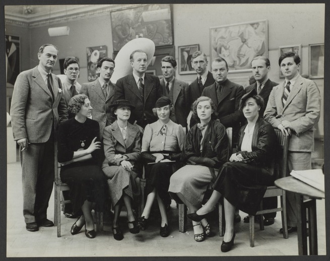 Photograph album: International Surrealist Exhibition, London 1936, made 1936 - 1939 Images taken by Chancery. Images titled by Roland Penrose