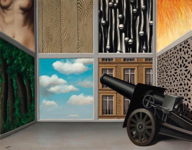René Magritte (1898-1967) 'Au seuil de la liberté (On the Threshold of Liberty)' 1930