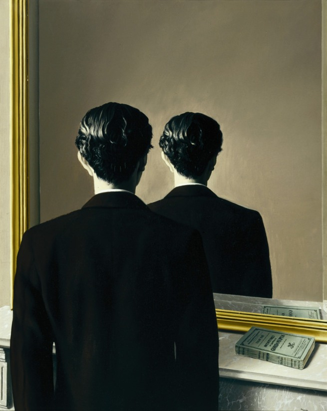 René Magritte (1898-1967) 'La reproduction interdite (Not to be Reproduced)' 1937