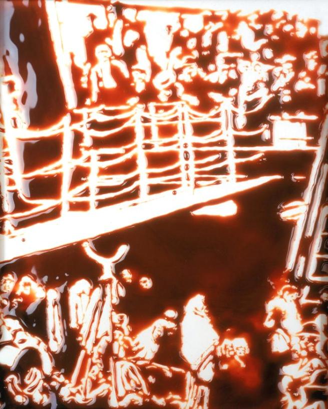 Vik Muniz. 'The Steerage (After Alfred Stieglitz)' 2000