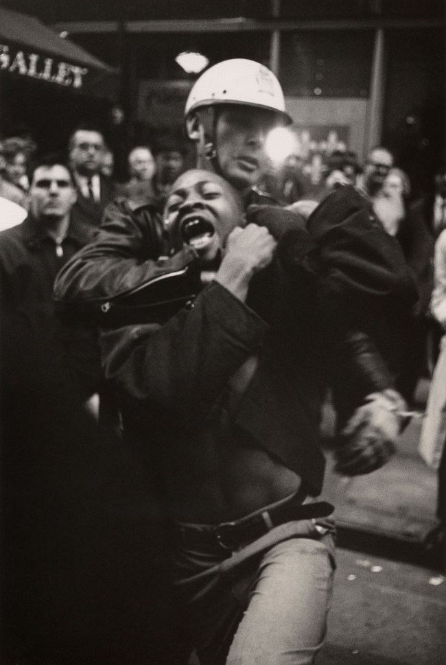 Danny Lyon. 'Arrest of Taylor Washington, Atlanta' 1963