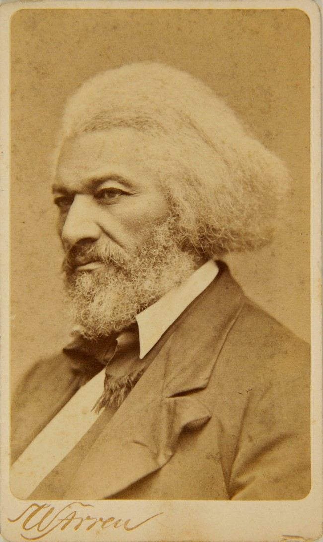 W. Arren (American) 'Carte de visite of Frederick Douglass' c. 1879