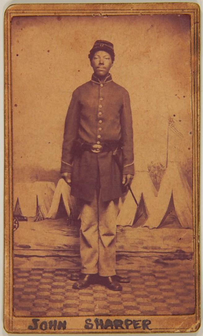 Unknown Photographer American Carte De Visite Of John Sharper C 1863