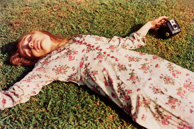 William Eggleston. 'Untitled' c. 1975 (Marcia Hare in Memphis Tennessee) c. 1975