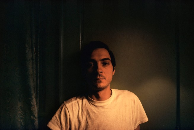 William Eggleston. 'Untitled, 1970' (Self-portrait)