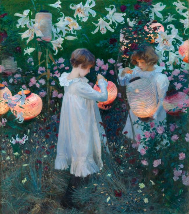 John Singer Sargent (1856-1925) 'Carnation, Lily, Lily, Rose' 1885-86