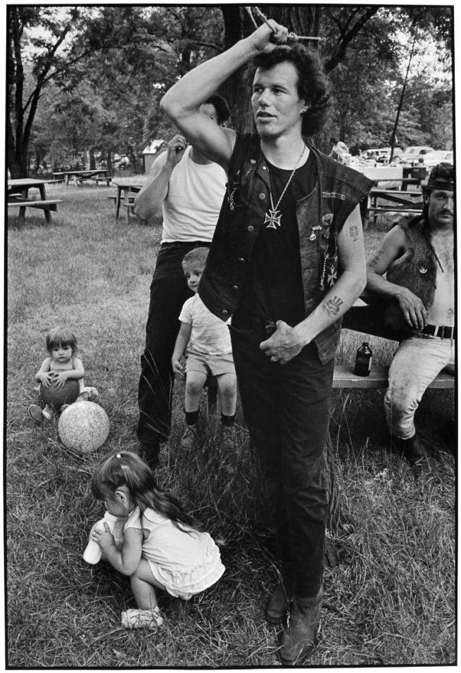 Danny Lyon. 'Cowboy, Rogue's Picnic, Chicago' 1966